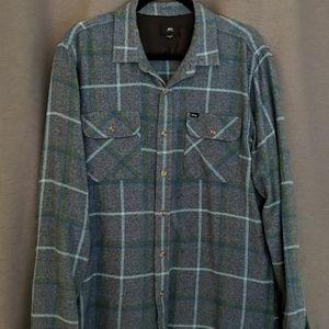 Obey men's flannel